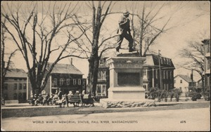 World War II memorial statue, Fall River, Mass.