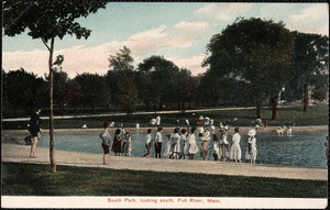 South Park, looking south, Fall River, Mass.