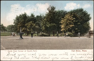 North east corner of South Park, Fall River, Mass.