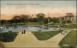 Wading pool, South Park, Fall River, Mass.