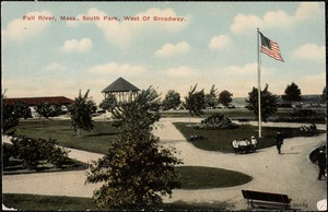 Fall River, Mass. South Park, West of Broadway