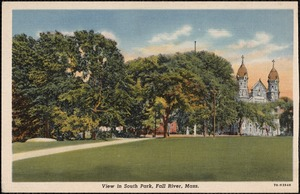 View in South Park, Fall River, Mass.
