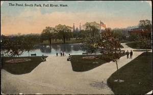 The pond, South Park, Fall River, Mass.