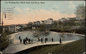 The wading pool, North Park, Fall River, Mass.