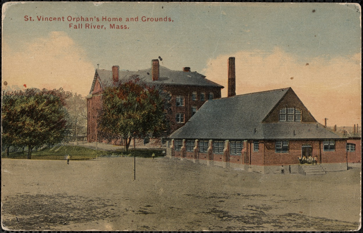 St. Vincent Orphans Home and grounds, Fall River, Mass. - Digital