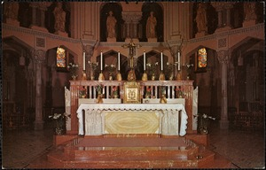 Saint Anne Church main altar Fall River, Mass.