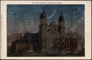 St. Ann Church, Fall River, Mass.