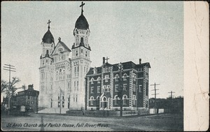St. Ann's Church and Parish House, Fall River, Mass.