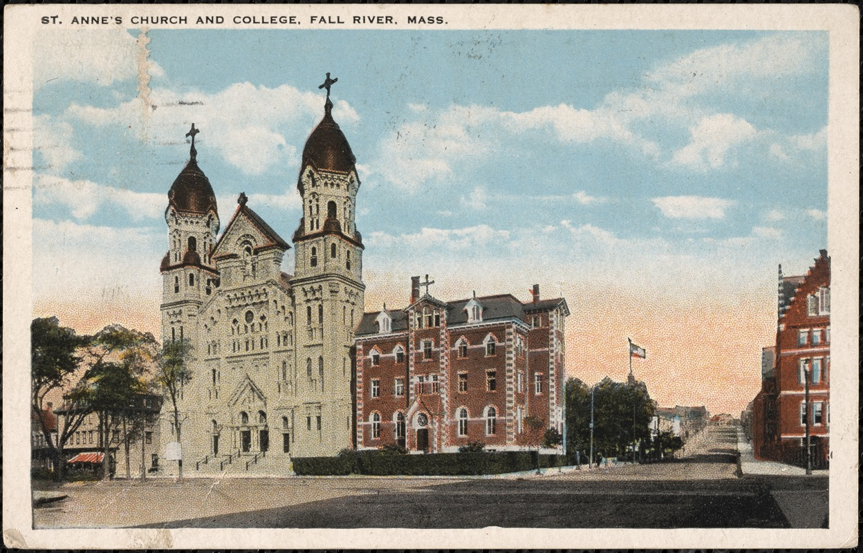 St. Anne's Church and College, Fall River, Mass.