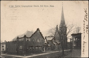 Central Congregational Church, Fall River, Mass.