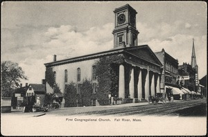 First Congregational Church. Fall River, Mass.