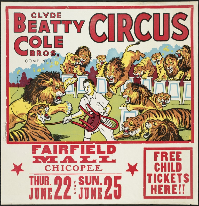 Clyde Beatty Cole Bros. Combined Circus