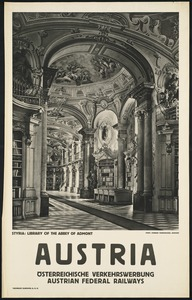 Austria. Styria: Library of the Abbey of Admont