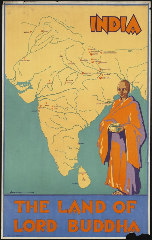 India. The land of Lord Buddha