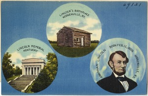 Lincoln's birthplace, Hodgenville, KY, Lincoln Memorial, Kentucky
