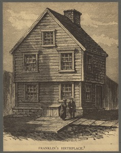 Birthplace of Benjamin Franklin, Milk Street