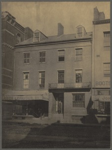 Residence of Wendell Phillips, Essex Street