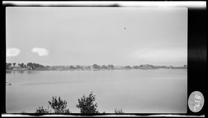 """Cove near """"Phillips Head"""" Germantown, from Ward 2 playground, 1920"""