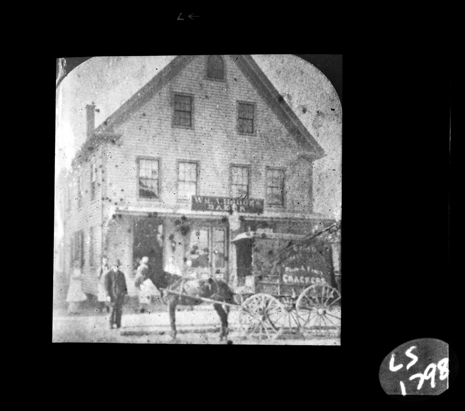 William A. Hodges Bakery 1890