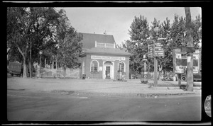 Colonial filling station, gas station