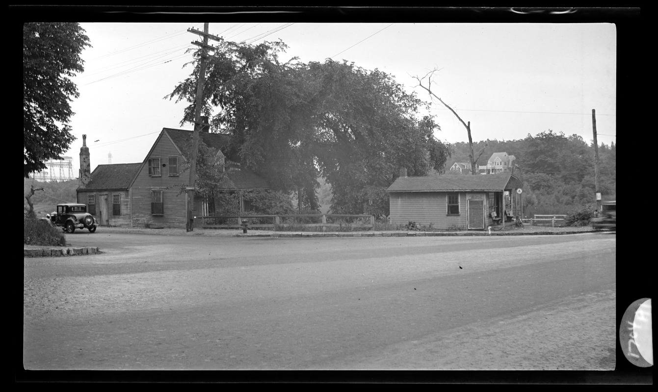 (2) Views of Newcomb Square
