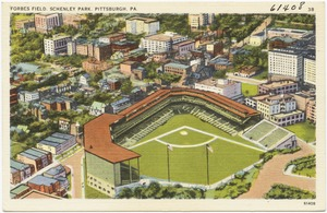 Forbes Field. Schenley Park. Pittsburgh, PA.