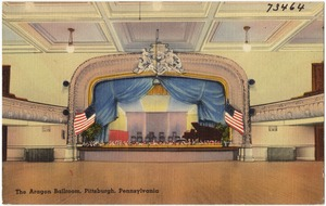 The Aragon Ballroom, Pittsburgh, Pennsylvania
