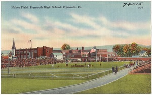 Huber Field, Plymouth High School, Plymouth, Pa.