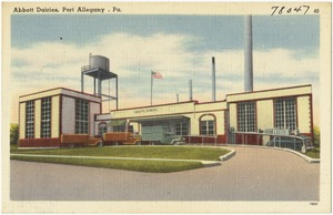 Abbott Dairies, Port Allegany, Pa.