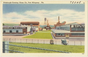 Pittsburgh-Corning Glass Co., Port Allegany, Pa.