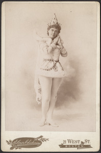 "D'Arville as Prince Kam in ""Venus"""