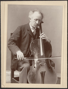 Alwyn Schroeder, distinguished cellist of BSO and the Adamowski Quartet in its early years