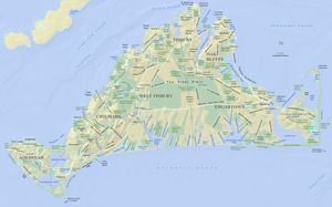 Martha's Vineyard Place Names