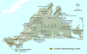 Wampanoag place names.