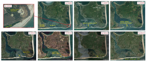 Historic maps of Norton Point Breach Timeline