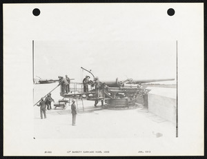 "10"" Barbette carriage model 1893"