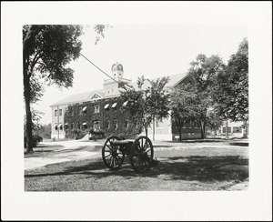 Administration building, 1900