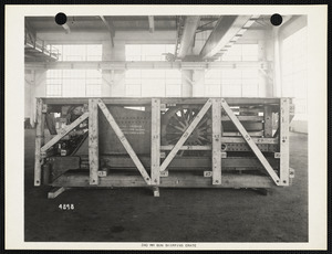 240 MM gun shipping crate