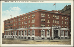 Army & Navy Y.M.C.A., City Square, Charlestown, Mass.