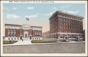 Public library and Y.M.C.A., Brockton, Mass.