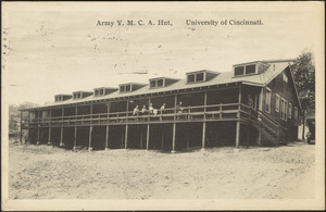 Army Y.M.C.A. hut, University of Cincinnati
