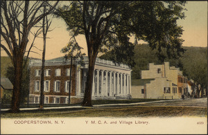Cooperstown, N.Y. Y.M.C.A. and village library.