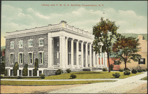 Library and Y.M.C.A. building, Cooperstown, N.Y.