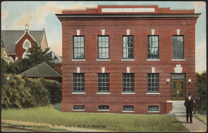 Ossining-On-Hudson, N.Y. new Y.M.C.A. building