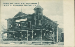 Boston and Maine, R.R. Department, Y.M.C.A., Rotterdam Junction, N.Y.