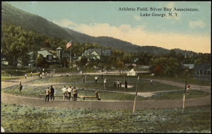 Athletic field, Silver Bay Association, Lake George, N.Y.