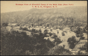 Birdseye view of Greenkill Camp of the West Side (New York) Y.M.C.A., Kingston, N.Y.