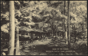 Some of the cabins, Brooklyn Y.M.C.A. Camp Paupack, Pa.