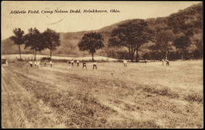 Athletic field, Camp Nelson Dodd, Brinkhaven, Ohio
