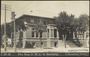 The new Y.M.C.A. building Columbus, Neb